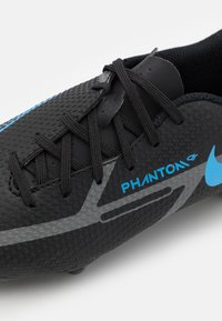 Nike Performance - JR. PHANTOM GT2 ACADEMY UNISEX - Moulded stud football boots - black/iron grey - 5