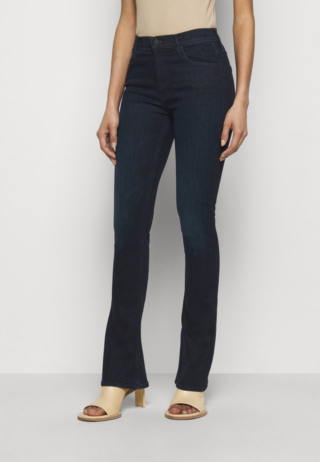 THE RUNAWAY - Bootcut jeans - dark blue