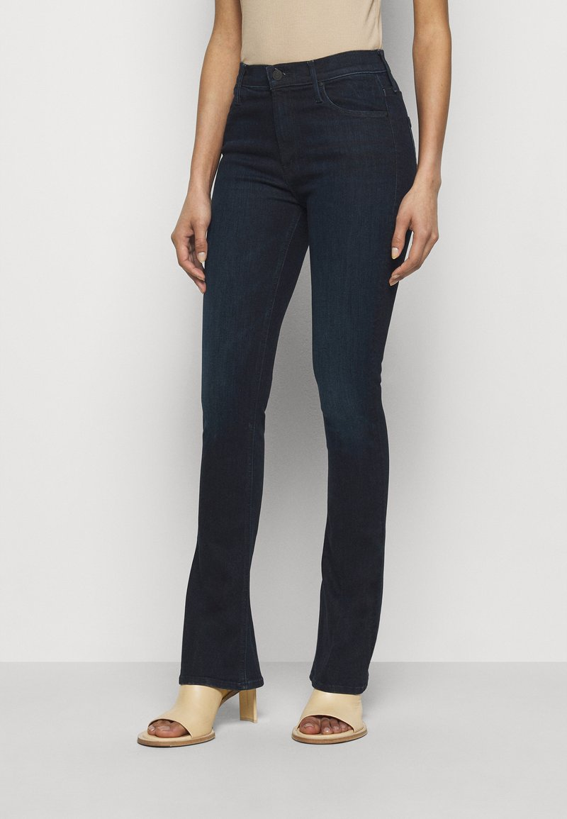 Mother - THE RUNAWAY - Bootcut jeans - dark blue