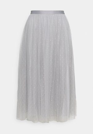 KISSES MIDAXI SKIRT - A-line skirt - frost blue