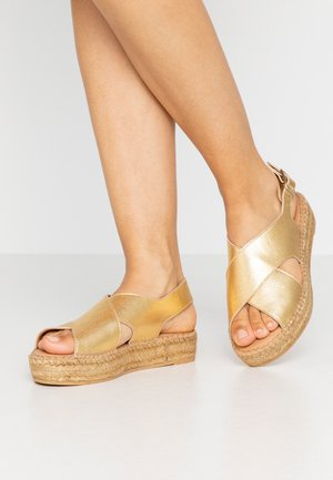 Loafers - platine