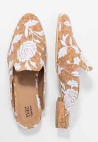 NAE Vegan Shoes - VERO - Matalakantaiset pistokkaat - white - 1
