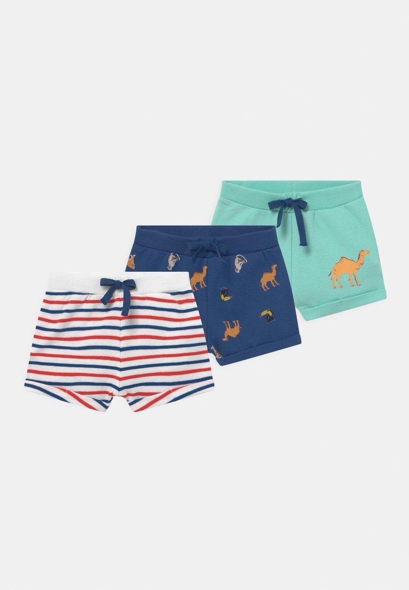 Name it - NBMFRIBO 3 PACK - Shorts - navy peony