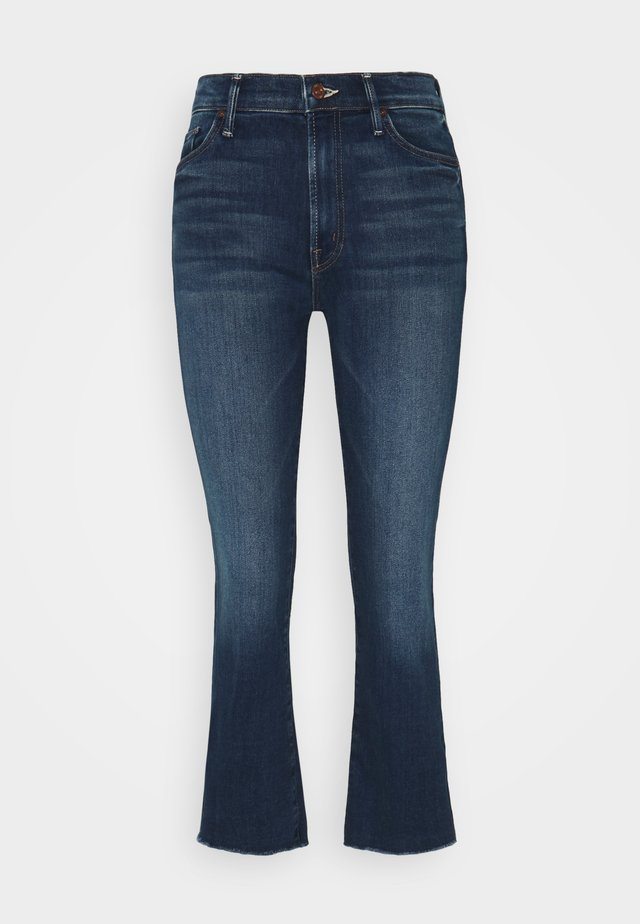INSIDER CROP STEP FRAY - Jeans Skinny - sweet and sassy