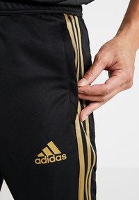adidas Performance - REAL MADRID CLUB CLIMACOOL FOOTBALL PANTS - Tracksuit bottoms - black - 3