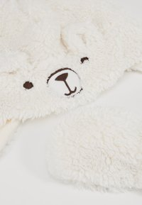 GAP - TODDLER GIRL BEAR SET - Beanie - ivory frost - 2