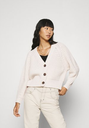 SUPER CROP  - Cardigan - ivr