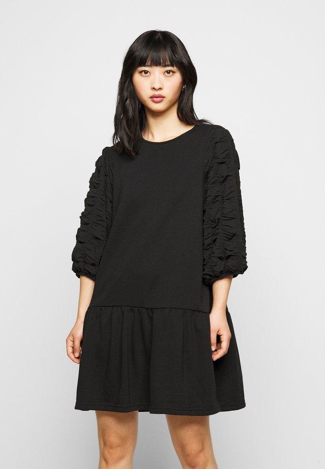 VMMIRIAM SHORT DRESS - Vapaa-ajan mekko - black