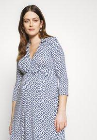 Slacks & Co. - AVA - Jersey dress - aztec blue - 4
