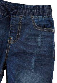 Next - VINTAGE - Slim fit jeans - mottled blue - 2