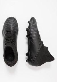 adidas Performance - PREDATOR 20.3 FG - Kopačky lisovky - core black/solid grey - 0