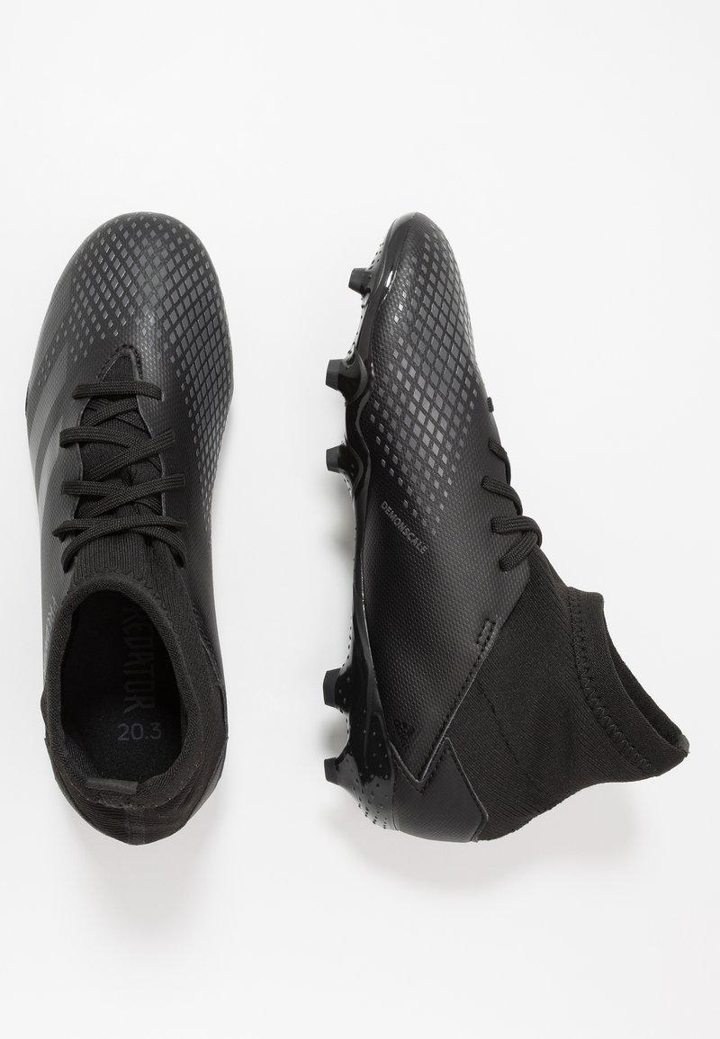 adidas Performance - PREDATOR 20.3 FG - Kopačky lisovky - core black/solid grey