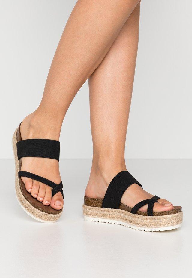 CASE - Flip Flops - black