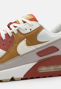 Nike Sportswear - AIR MAX 90 - Sneakers laag - rugged orange/sail/wheat/light brown