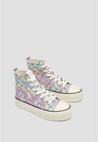 PULL&BEAR - Baskets montantes - multi coloured - 2