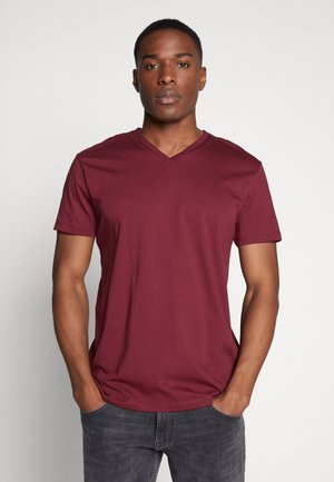 T-shirt basic - bordeaux red