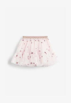 STAR GLITTER  - Mini skirt - pink