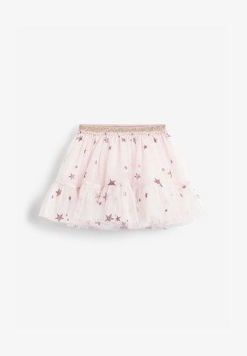 STAR GLITTER  - Mini skirt - pink