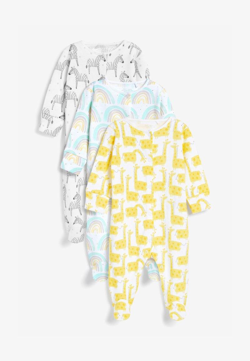 Next - 3 PACK CHARACTER RAINBOW  - Sleep suit - yellow