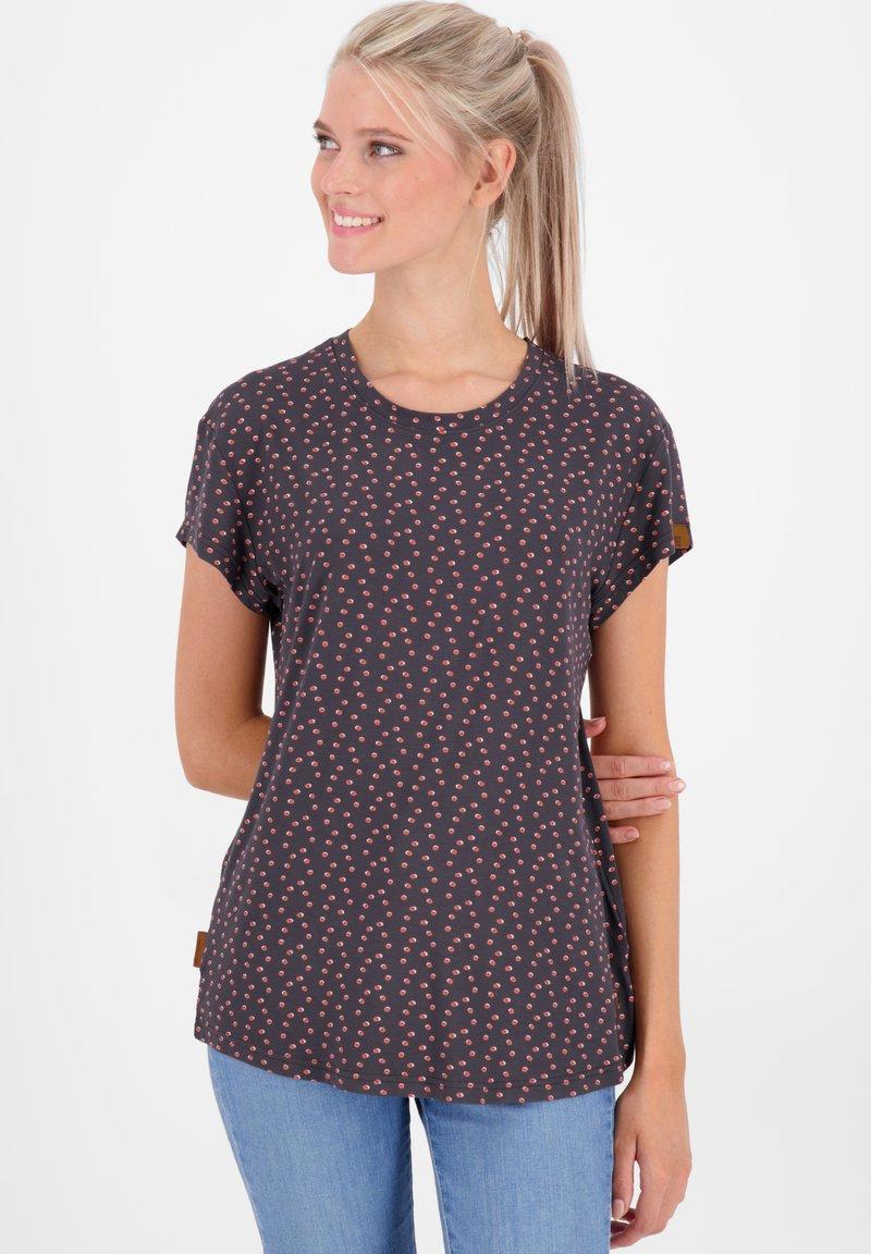 alife & kickin - MIMMY B  - Print T-shirt - charcoal
