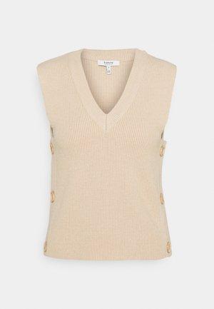 BYNONINA SLIPOVER - Waistcoat - cement melange