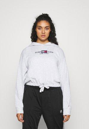 TIMELESS HOOD - Sweatshirt - silver grey