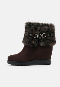 Laura Biagiotti Roma - High heeled ankle boots - brown - 1