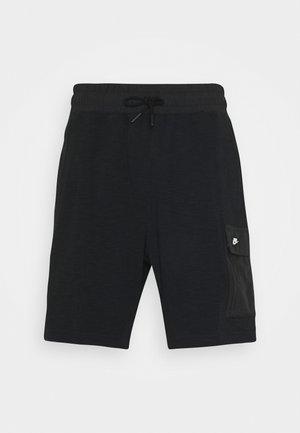 Shorts - black//black oxidized