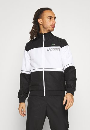 TRACK SUIT - Tracksuit - black/white