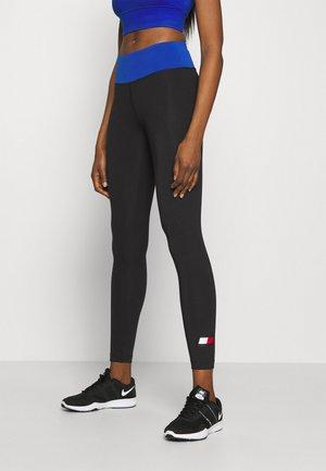 FULL LENGTH LEGGING LOGO - Leggings - black
