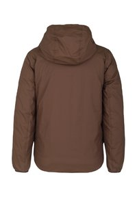 K-Way - Down jacket - brown-blue maritime - 3