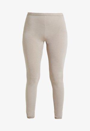 PERSONAL FIT LEGGINGS - Pyžamový spodní díl - braun