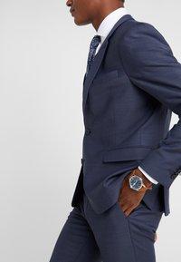 DRYKORN - FOOT - Oblekové kalhoty - dark blue - 4