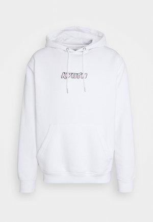 KYOTOI HOOD - Sweatshirt - white