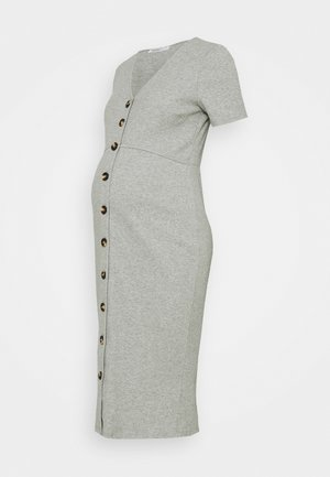 DRESS - Trikoomekko - light grey