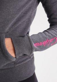 Hollister Co. - CORE - Zip-up hoodie - dark grey - 4