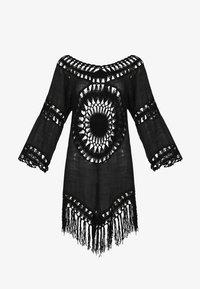 IZIA - IZIA TUNIKAKLEID - Day dress - schwarz - 4