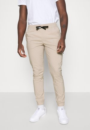 SCANTON - Cargo trousers - beige