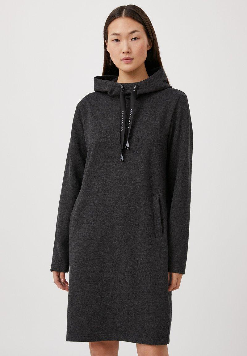 Finn Flare - Day dress - black melange