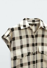 Massimo Dutti - Shirt dress - beige - 3
