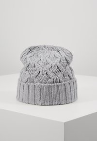 Michael Kors - CABLE CUFF HAT - Mössa - heather grey