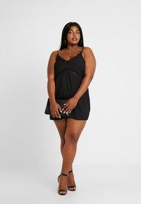 Missguided Plus - CAMI DRESS - Cocktail dress / Party dress - black - 1