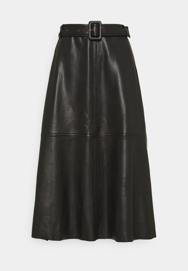 KAEDLYN SKIRT - A-lijn rok - black deep