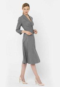 Deni Cler Milano - Sukienka letnia - grey - 1