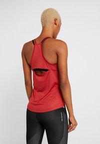 adidas Performance - PERF - Treningsskjorter - red melange - 2