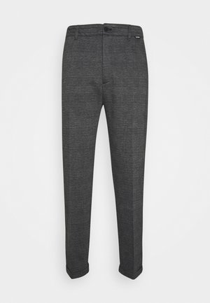 COMFORT CHECK PANT - Trousers - grey