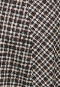 Pieces - PCSILVIA SKIRT - A-line skirt - mole/jadeite - 2