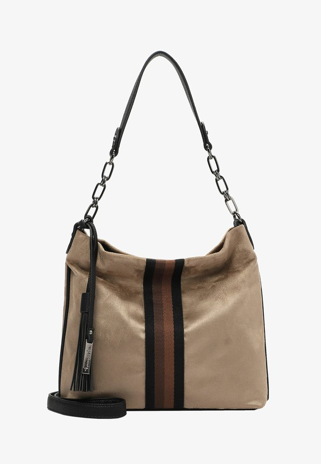 BRENDA - Handtasche - taupe 900
