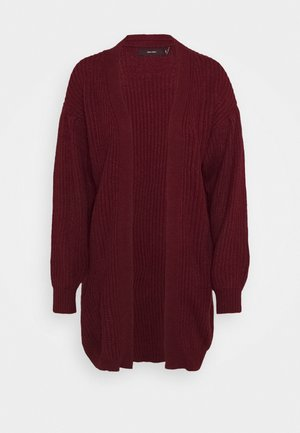 VMFURN BALLOON OPEN  - Strickjacke - cabernet