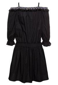 Patrizia Pepe - Košilové šaty - black - 1